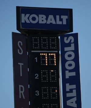 Dan Wheldon tribute at Las Vegas Motor Speedway (Photo Credit: Chris Jones)