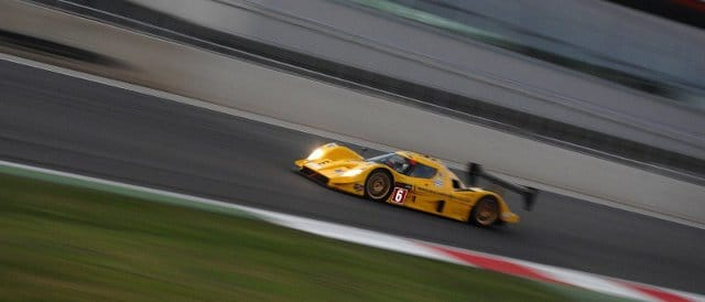The No. 6 Aqiula in the Silverstone dawn - Photo Credit: Chris Gurton Photography
