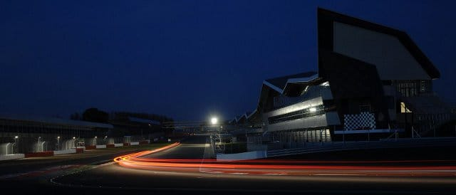 Darkness falls over Silverstone - Photo Credit: Chris Gurton Photography