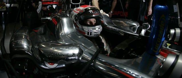 Jenson Button - Photo Credit: Vodafone McLaren Mercedes