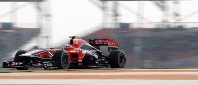 Jerome D'Ambrosio - Photo Credit: Marussia Virgin Racing