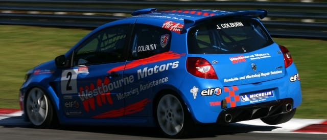 James Colburn Took His Maiden Clio Win At A Sunny Brands - Photo Credit: Jakob Ebrey Photography
