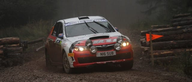 Jason Pritchard - Photo Credit: rally-irc.com