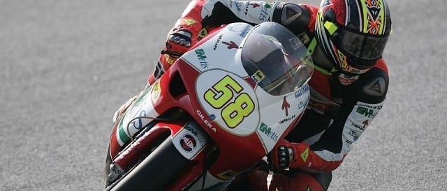 Marco Simoncelli - Photo Credit: MotoGP.com
