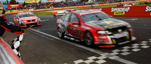 Bathurst 2011 winners Garth Tander & Nick Percat Photo credit : Toll HRT