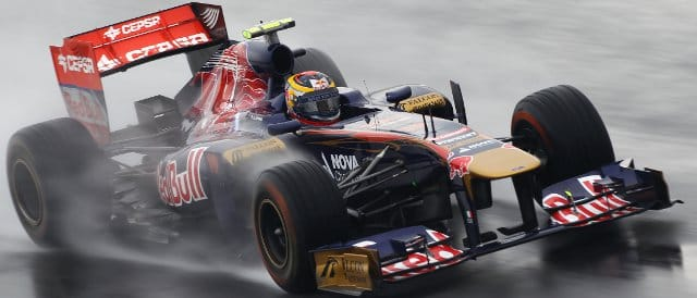 Jean-Eric Vergne out on track during FP1 in Korea - Photo Credit: Clive Mason/Getty Images