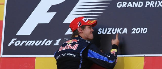 Sebastian Vettel is a big fan of Suzuka, as he demonstrated last year after taking victory - Photo Credit: Mark Thompson/Getty Images