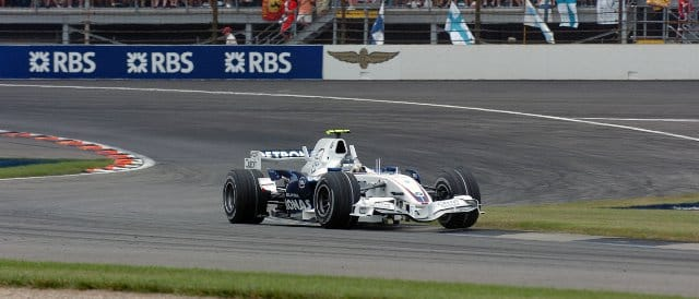 Sebastian Vettel made his F1 debut for BMW Sauber at the 2007 United States Grand Prix at Indianapolis. Vettel finished eighth in that race, 0.4 seconds behind Mark Webber. - Photo Credit: BMW AG