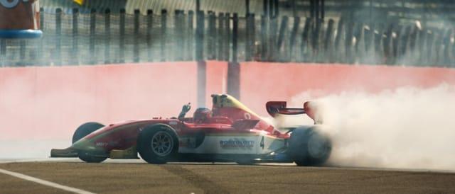 Mirko Bortolotti celebrates his title - Photo Credit: FIA Formula Two Championship