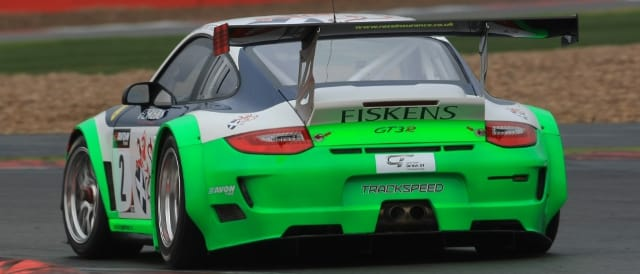Bridgman and Fisken's Trackspeed Porsche (Photo Credit: Jakob Ebrey)