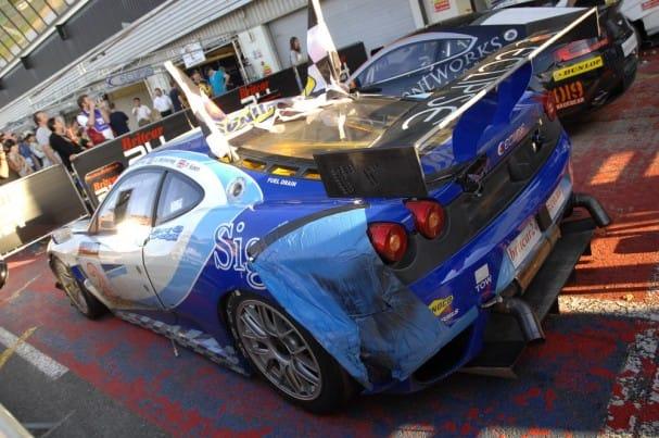 Eclipse Motorsport Ferrari (Photo Credit: Chris Gurton Photography)