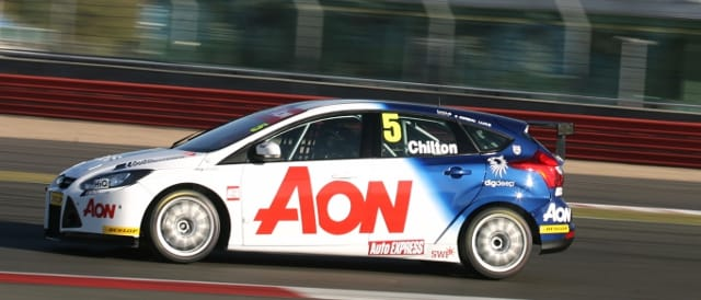 Tom Chilton, Silverstone (Photo Credit: btcc.net)