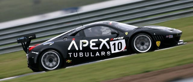 The Geddie's No.10 CRS Racing Ferrari 458 (Photo Credit: SRO)
