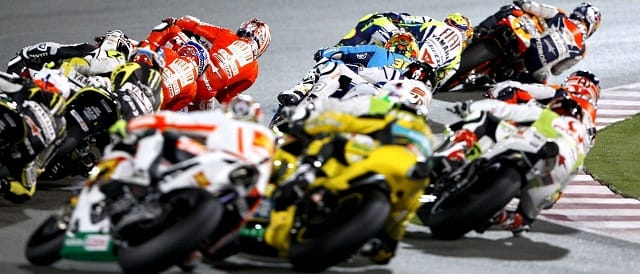 MotoGP action at Qatar - Photo Credit: MotoGP.com