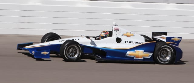 Chevrolet powered 2012 Indycar (Photo Credit: Indycar)