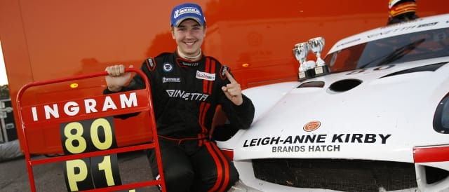 Tom Ingram - Ginetta GT Supercup G50 Champion (Photo Credit: Jakob Ebrey Photography)
