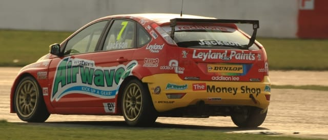 Mat Jackson, Silverstone (Photo Credit: btcc.net)