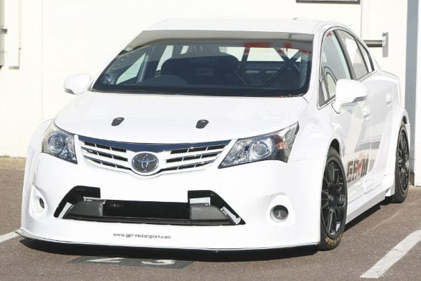 2012 model NGTC Toyota Avensis (Photo Credit: btcc.net)