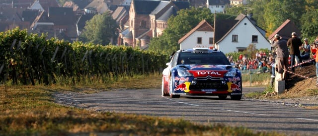 Sebastien Ogier - Photo Credit: Citroen Racing Media