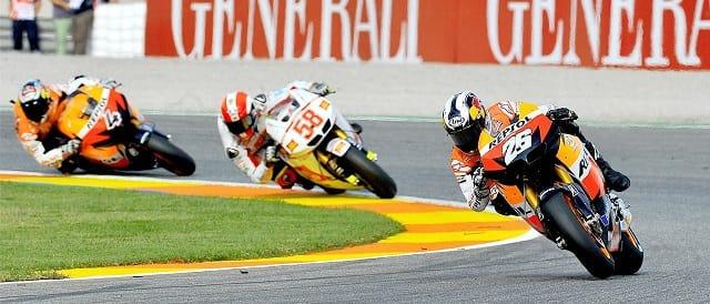 Dani Pedrosa & Marco Simoncelli - Photo Credit: MotoGP.com