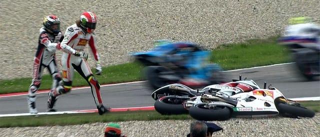 Jorge Lorenzo & Marco Simoncelli - Photo Credit: MotoGP.com