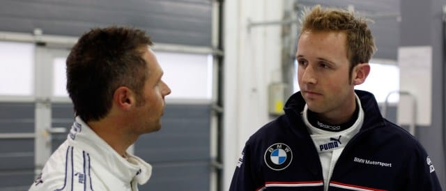 Andy Priaulx and Rene Rast - Photo Credit: BMW AG