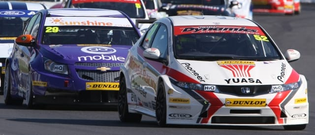Gordon Shedden (Photo Credit: btcc.net)