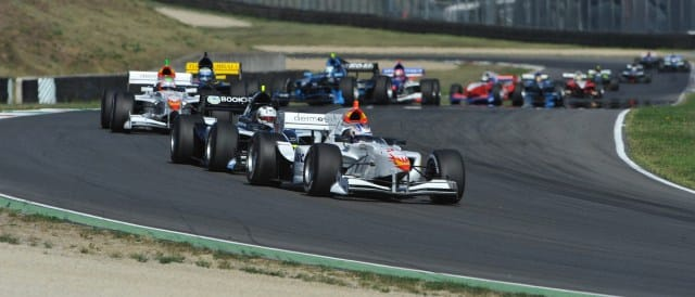Adrien Tambay leads the Auto GP field - Photo Credit: Auto GP