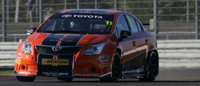 Frank Wrathall has led Toyota's 2011 runners (Photo Credit: btcc.net)