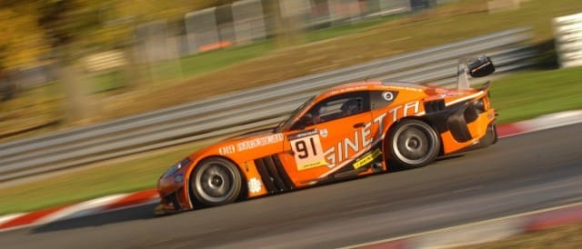 Barwell Motorsport's Ginetta G5 (Photo Credit: Chris Gurton Photography)