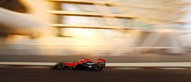 Timo Glock - Photo Credit: Marussia Virgin Racing
