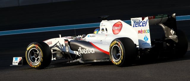 Esteban Gutierrez - Photo Credit: Sauber Motorsport AG