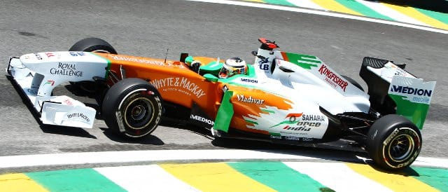 Nico Hulkenberg - Photo Credit: Sahara Force India F1 Team