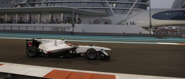 Kamui Kobayashi at the Abu Dhabi Grand Prix last season - Photo Credit: Sauber Motorsport AG