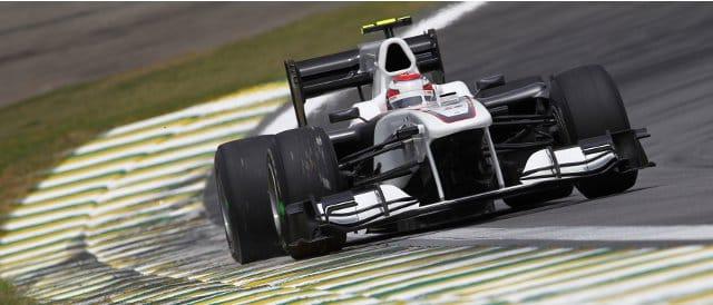 Kamui Kobayashi finished tenth for Sauber last year at Interlagos - Photo Credit: Sauber Motorsport AG