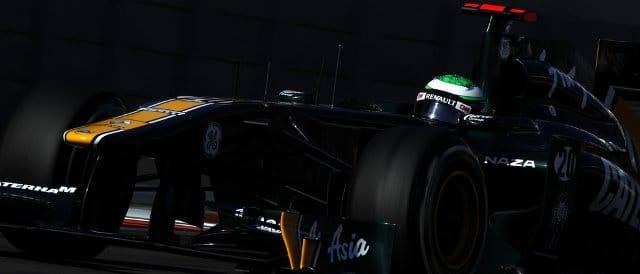 Heikki Kovalainen during Q1 in Abu Dhabi - Photo Credit: Andrew Ferraro/LAT Photographic
