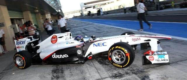 Fabio Leimer - Photo Credit: Sauber Motorsport AG