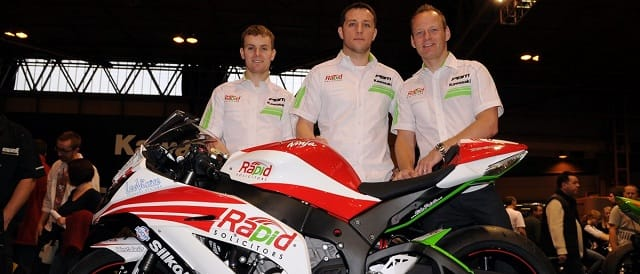 Stuart Easton, Andy Baldwin of Rapid Solicitors and Shane Byrne - Photo Credit: Jon Jessop