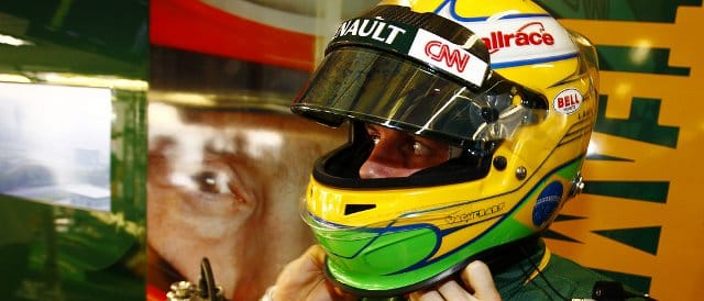 Luiz Razia's last outing in an F1 car was during FP1 in China last April - Photo Credit: Team Lotus