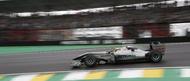 Nico Rosberg finished sixth in Brazil last season, one place higher than team-mate Schumacher - Photo Credit: Mercedes GP