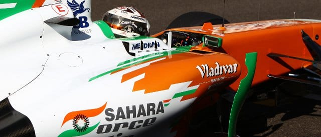 Adrian Sutil - Photo Credit: Sahara Force India F1 Team