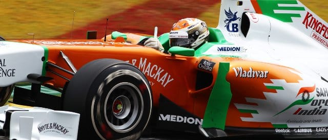 Adrian Sutil - Photo Credit: Sahara Force India F1 Team