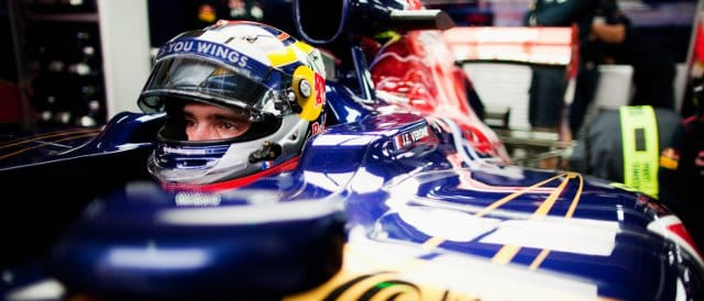 Jean-Eric Vergne in a Toro Rosso for FP1 in Korea - Photo Credit: Peter Fox/Getty Images