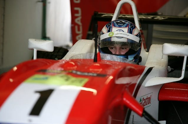 Wittmann in his Signature Dallara - Photo Credit: F3Euroseries.com