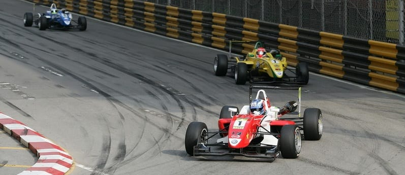 Wittmann Leads Nasr into Lisboa - Photo Credit: F3Euroseries.com