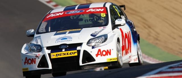 Team Aon's Tom Chilton in BTCC action (Photo Credit: Jakob Ebrey Photography)