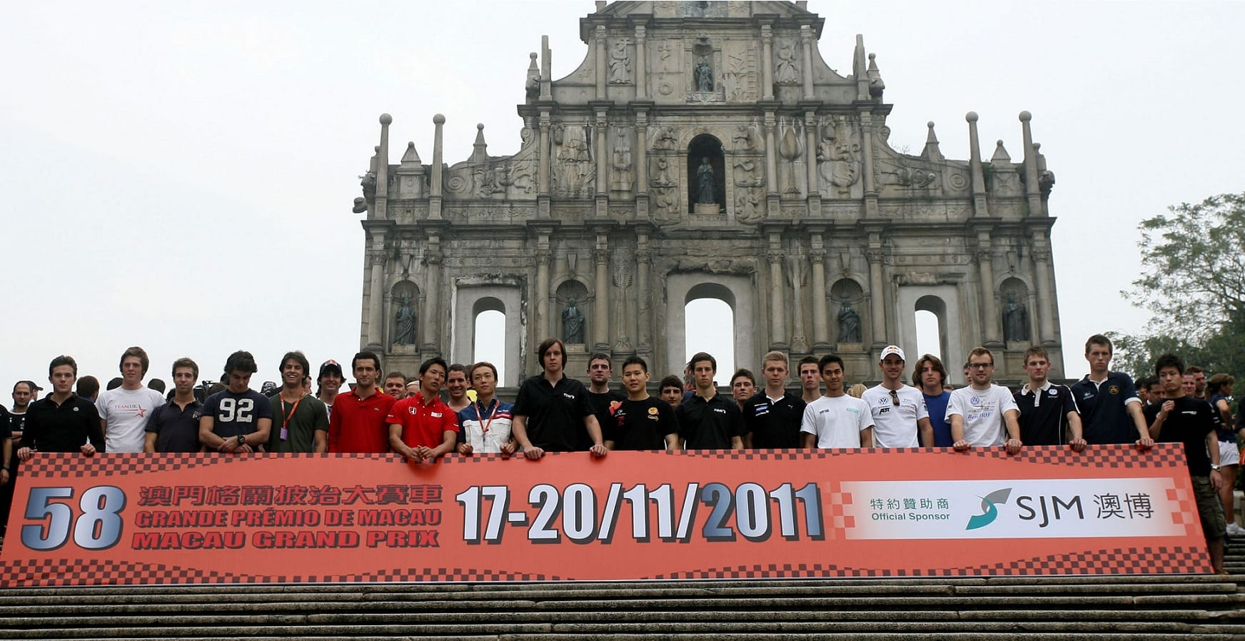 Macau Formula 3 Drivers photo call