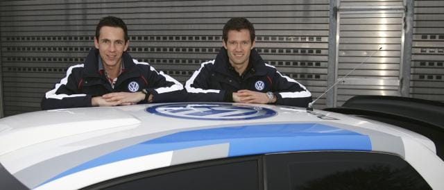Sebastien Ogier and his co-driver Julien Ingrassia - Photo Credit: Volkswagen Motorsport