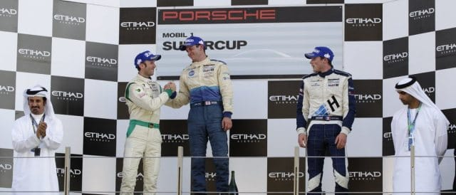 Rene Rast, Nick Tandy and Kevin Estre - Photo Credit: Porsche AG