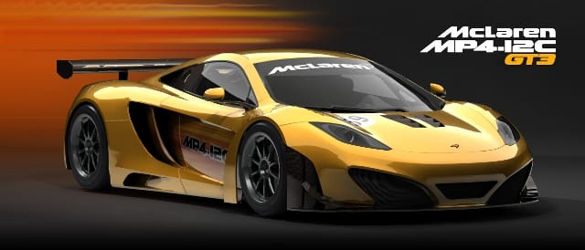 Work in progress image of Simraceway's MP4-12C